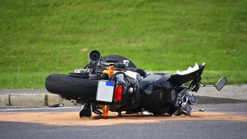 Śmiertelny wypadek motocyklisty w Sławsku