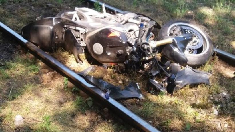 Śmiertelny wypadek w Sosnowcu. Motocykl wjechał w matkę z dziećmi