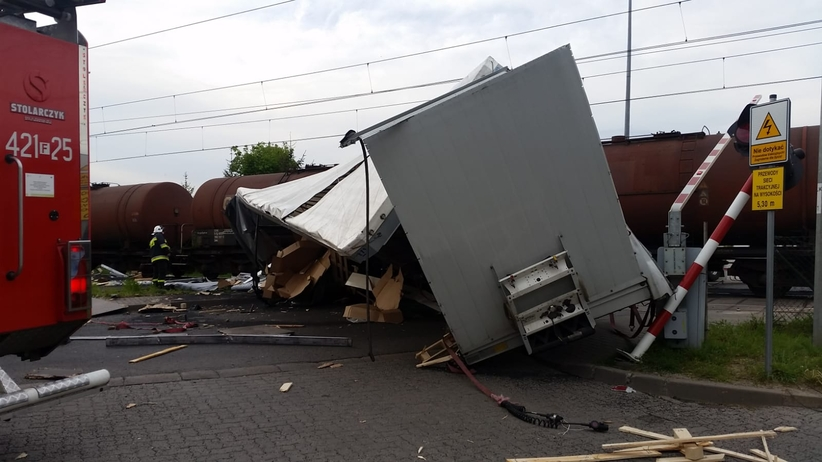 Wypadek w Świebodzinie.