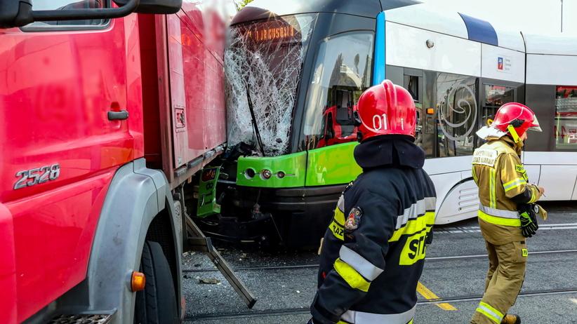 Wypadek w Szczecinie przy ulicy Energetyków
