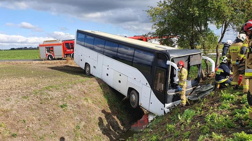 wypadek w Wytrębowicach