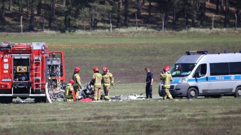 Zielona Góra. W katastrofie samolotu zginął 71-letni biznesman