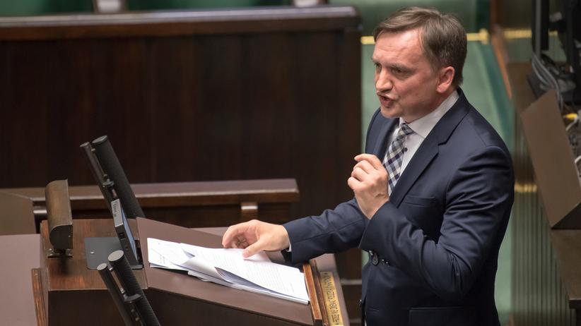 """Zbigniew Ziobro: """"PO rozdziera szaty, a później nie popiera zmian"""""""
