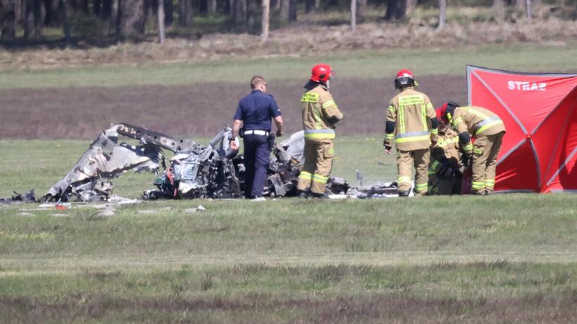Samolot rozbił się przy lądowaniu. Zginął pilot