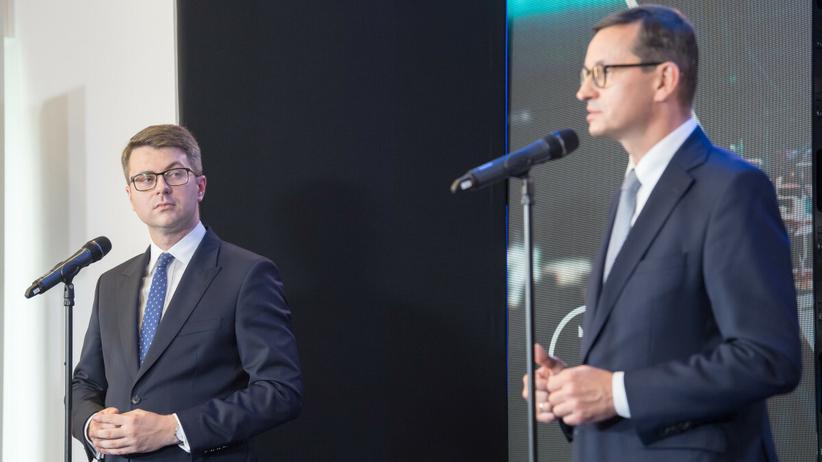 Piotr Muller, Mateusz Morawiecki
