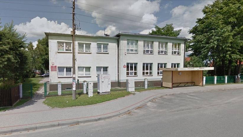 Ewakuacja szkoły w Żorach