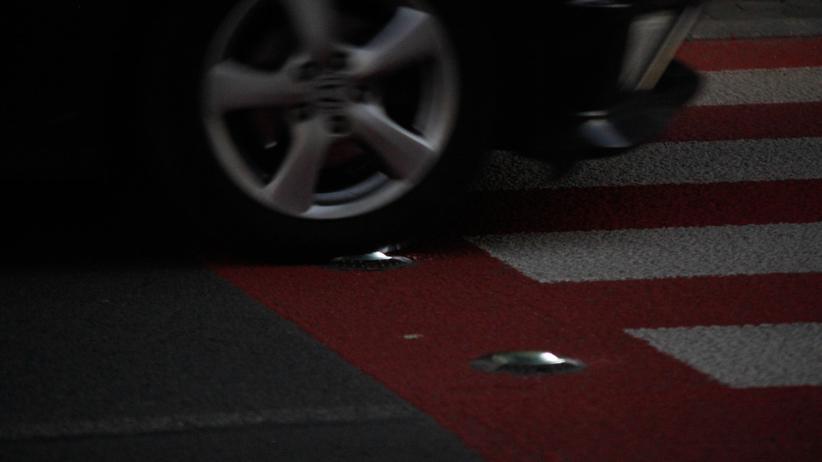 Żyrardów wypadek na przejściu dla pieszych