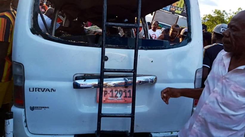 wypadek haiti