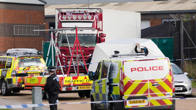 39 ciał w ciężarówce w Anglii