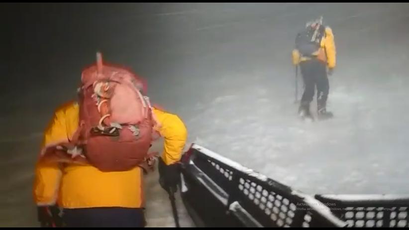 Akcja ratunkowa na Elbrusie