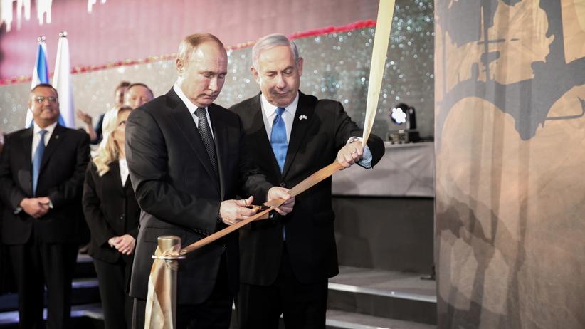 """Putin na obchodach w Jerozolimie. Mówił o """"pomniku wspólnej pamięci"""""""