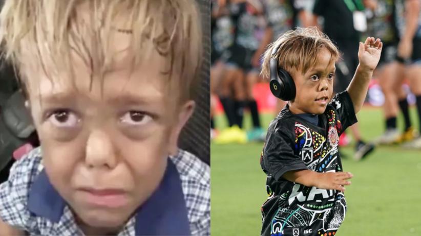 9-letni Quaden gnębiony z powodu karłowatości. Gwiazdy sportu spełniły jego marzenie