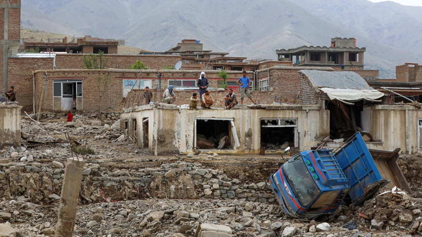 powódź błyskawiczna w Afganistanie