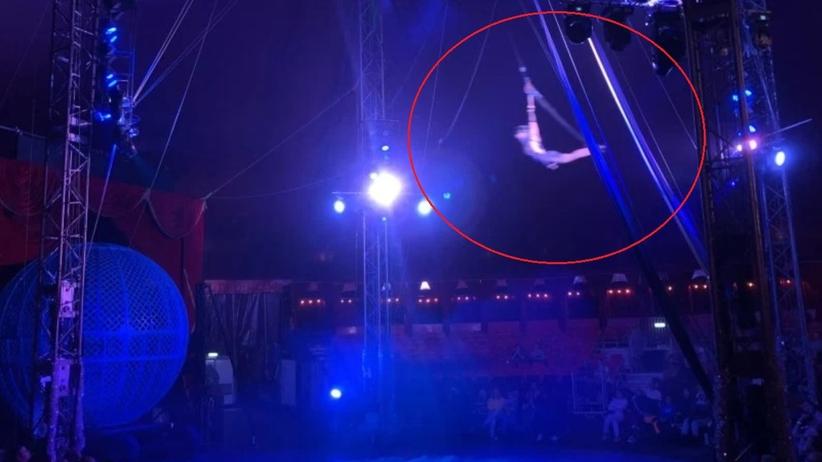 Dramat w londyńskim cyrku. Akrobatka spadła z wysokości 11 metrów