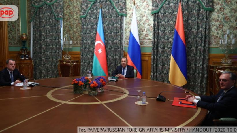 Armenia i Azerbejdżan zgodziły się na zawieszenie broni