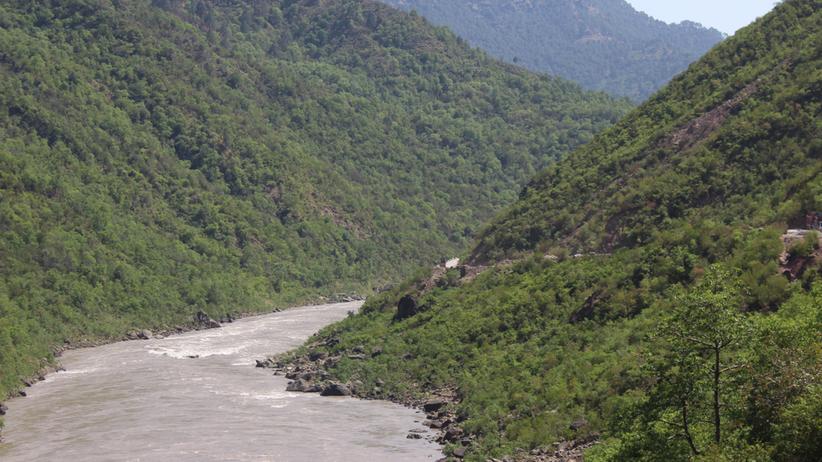 rzeka Pakistan