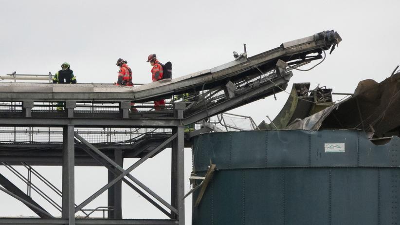 Avonmouth, eksplozja w zbiorniku, zginęły 4 osoby