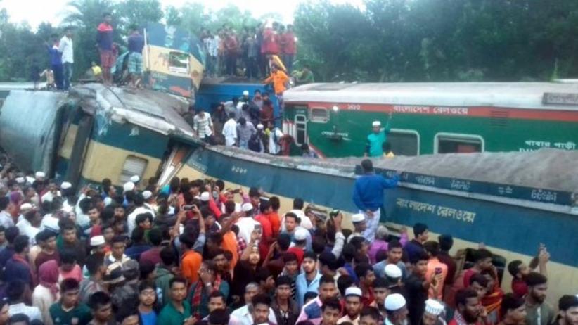Pociąg katastrofa
