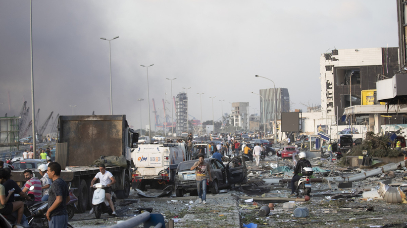 Bejrut rośnie bilans ofiar. Chcą stanu wyjątkowego