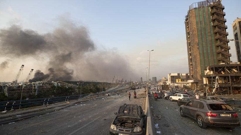 Potężne wybuchy w Bejrucie. Nie żyje co najmniej 50 osób, tysiące rannych