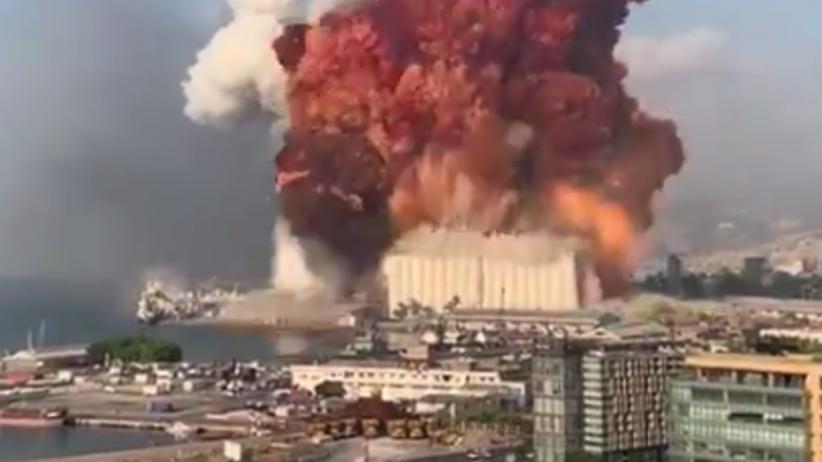 Gigantyczna eksplozja w Bejrucie. Znane są przyczyny wybuchu