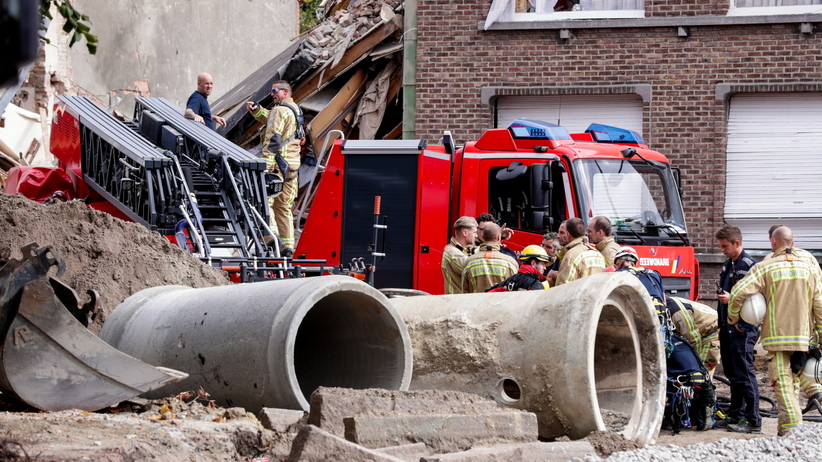 Belgia. Wybuch w Antwerpii. Pod gruzami budynków mogą być ludzie