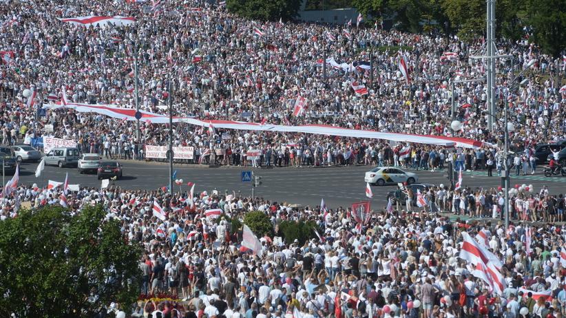Marsz Wolności w Mińsku