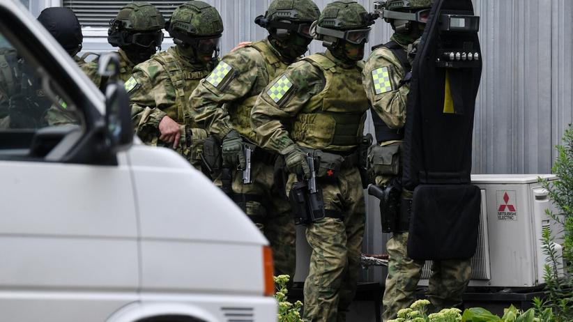strzały na granicy Bialorusi i Ukrainy
