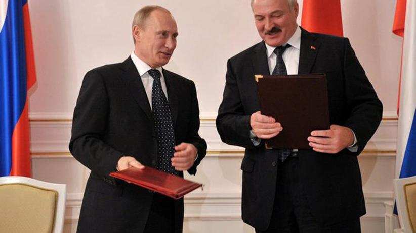 Lukaszenka i Putin