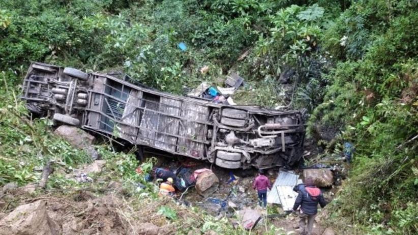 Boliwia. Wypadek autobusu, zginęło 20 osób