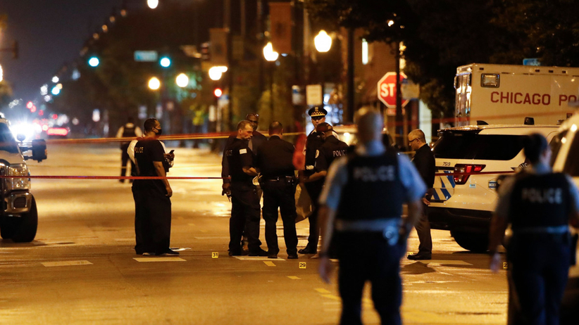 Zamieszki w Chicago