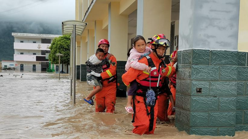 Chiny powodzie