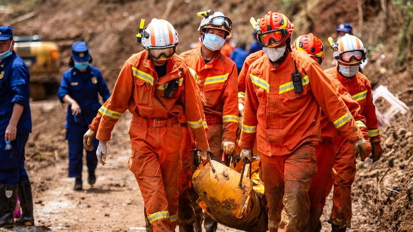 W Chinach osunęła się ziemia. Co najmniej 29 ofiar