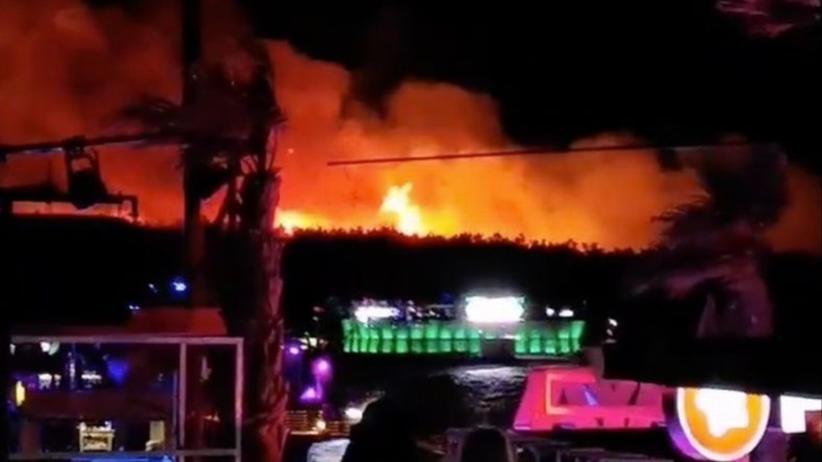 """Chorwacja. Ewakuacja na festiwalu """"Fresh Island"""". Na wyspie Pag wybuchł pożar"""