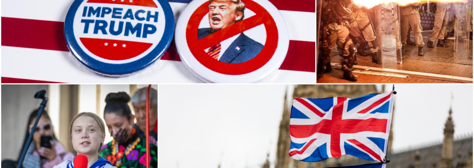 Czym będzie żył świat w 2020 roku? Wybory w USA, brexit, katastrofa klimatyczna