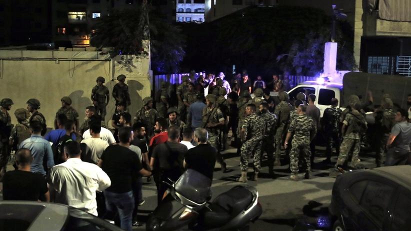 Drony Izraela uderzyły w Liban