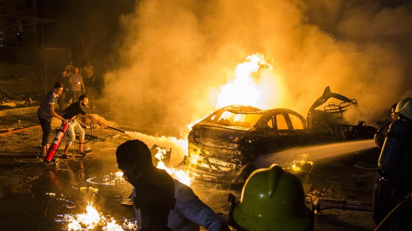 Egipt. Eksplozja w centrum Kairu
