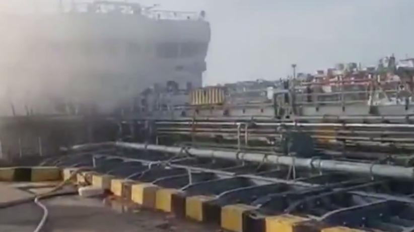 Eksplozja na tankowcu w Rosji. Nie żyje trzech marynarzy
