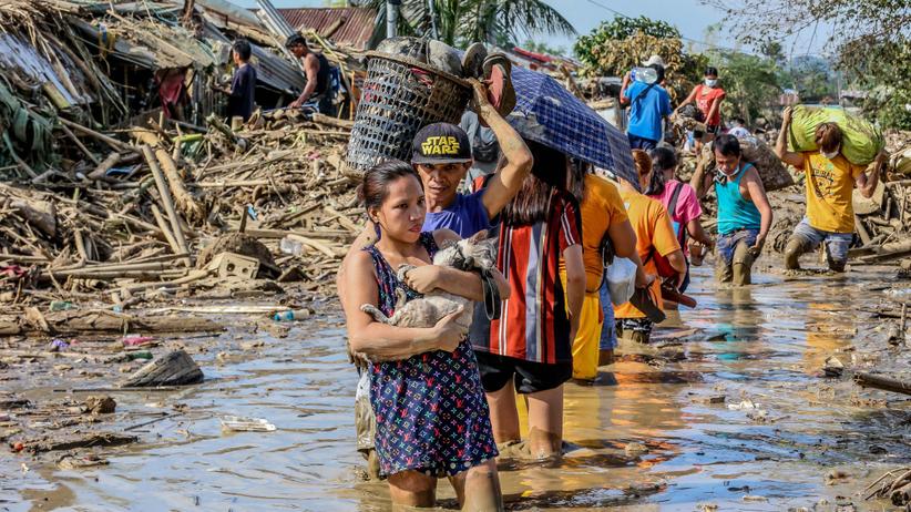 Cyklon Vamco spustoszył Filipiny