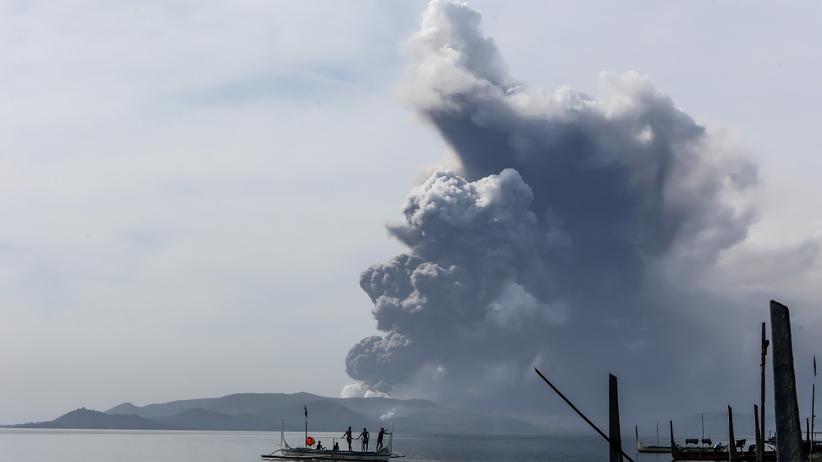 erupcja wulkanu taal