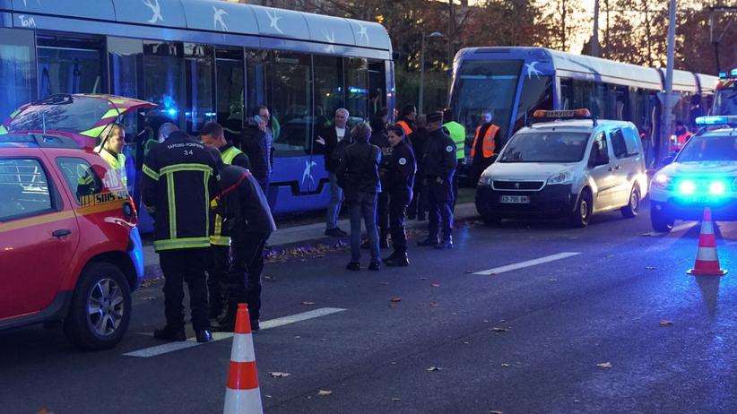 Groźny wypadek dwóch tramwajów. Ponad 50 osób jest rannych, trwa akcja ratunkowa