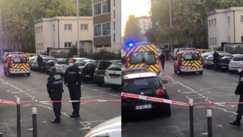 Atak w Lyonie