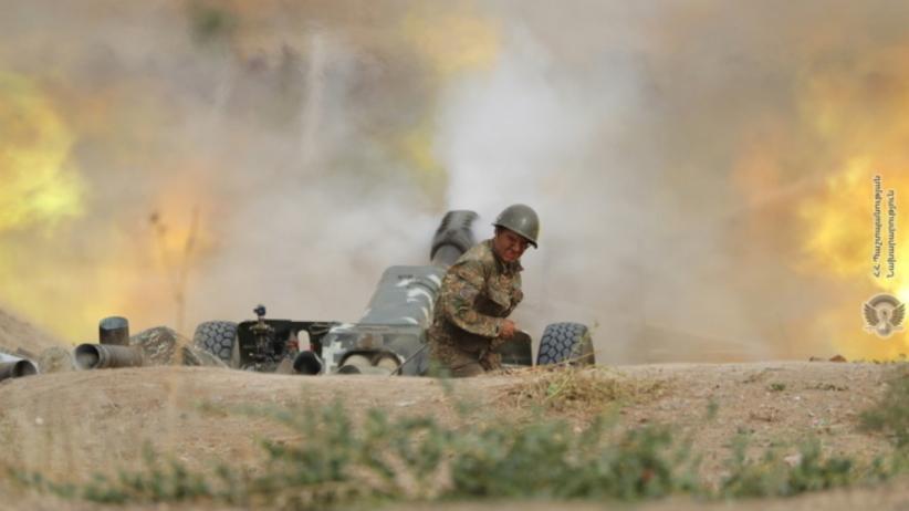 walki między Armenią a Azerbejdżanem