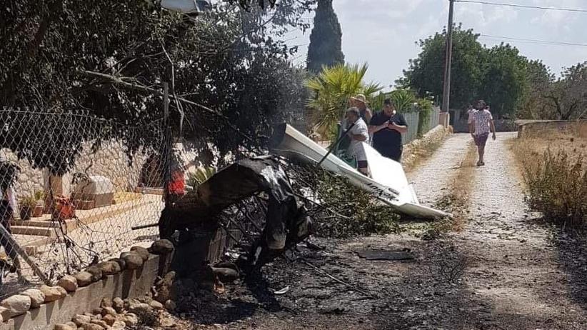 Hiszpania. Zderzenie helikoptera z samolotem na Majorce. Co najmniej 5 osób nie żyje