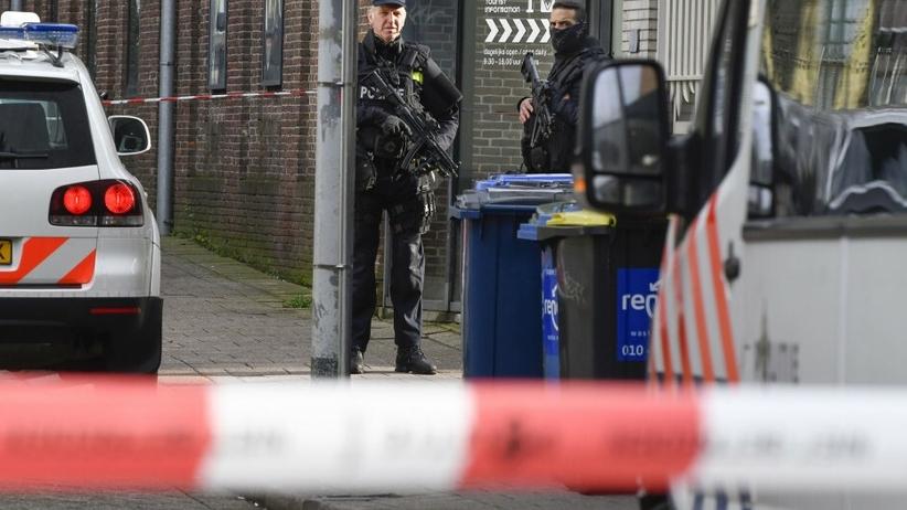 Holandia, atak na polski sklep