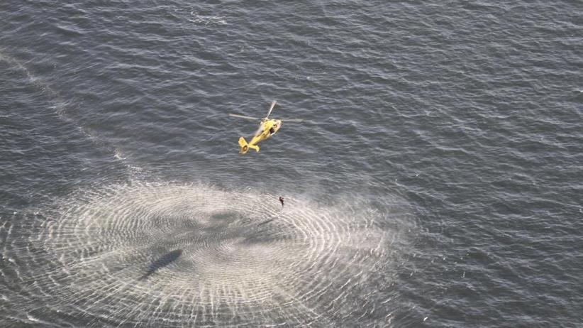 Akcja ratunkowa na Morzu Północnym