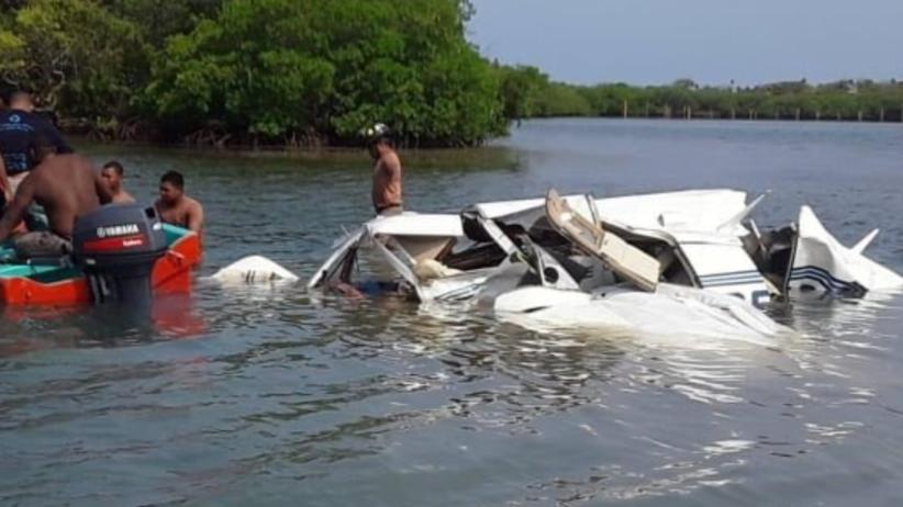 Samolot runął do morza. Nie żyje pilot i turyści