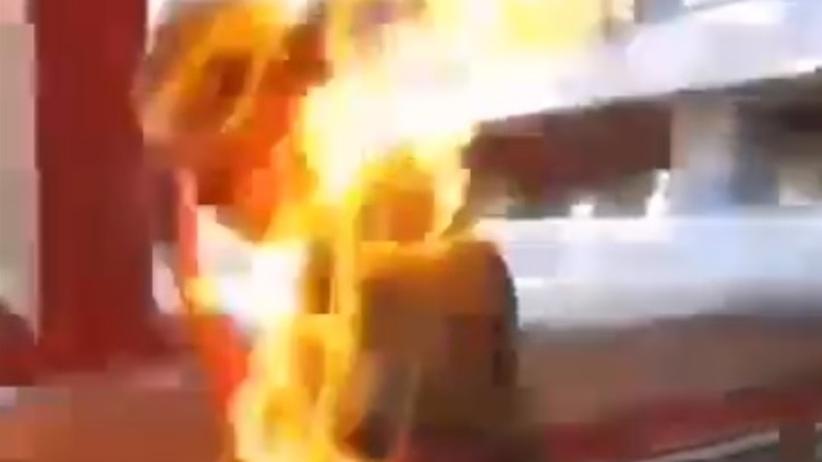 Podpalenie Hong Kong