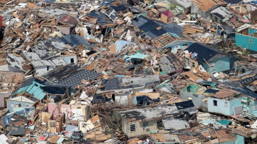 Huragan Dorian zdewastował Bahamy. 70 tysięcy osób potrzebuje pomocy