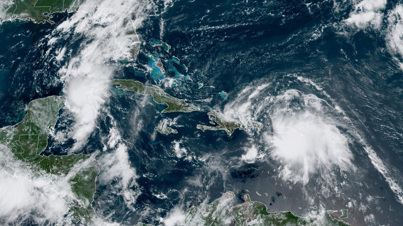 huragan marco i sztorm laura